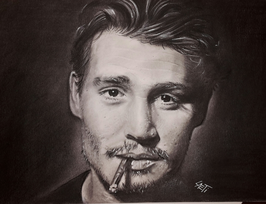 Johnny Depp par stellina